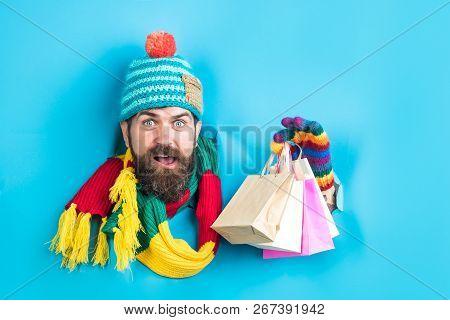Shopping Season. Black Friday And Cyber Monday Sales Day. Shopping And Sale. Winter Sale, Shopping C