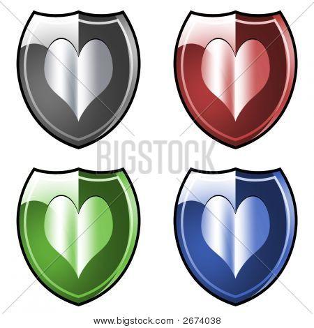 Shield. Armor. Heart.