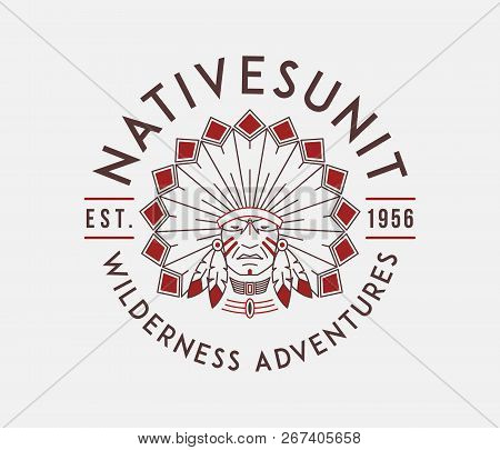 Outdoor Nativesunit Is A Vector Illustration About Wilderness Exploration