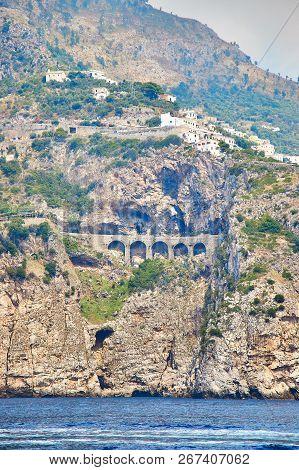 Positano, Amalfi Coast, Campania, Italy. Beautiful View