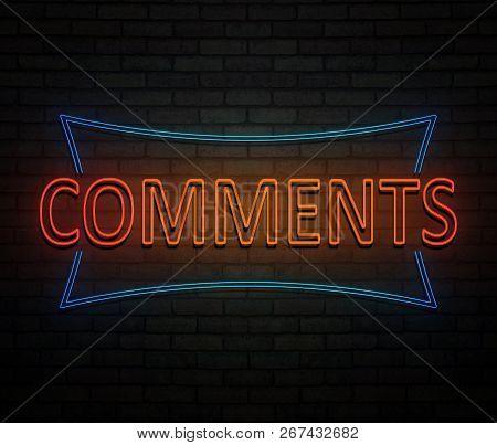 Comments Neon Concept.