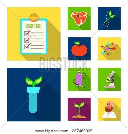 Vector Design Of  And  Logo. Collection Of  And  Stock Vector Illustration.