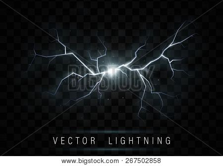 Lightning Flash Bolt Vector & Photo (Free Trial) | Bigstock