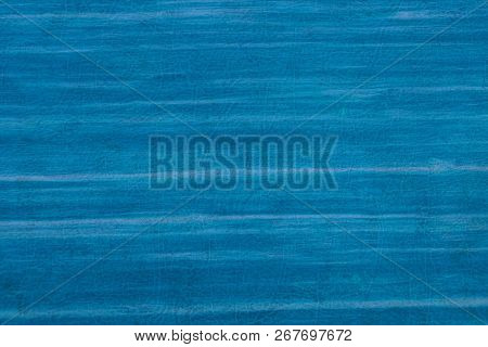 Blue Striped Plastic Texture From An Old Cover