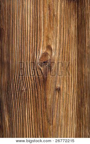 Tarry wooden texture close up