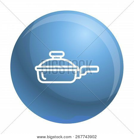 Griddle Icon. Outline Griddle Icon For Web Design Isolated On White Background