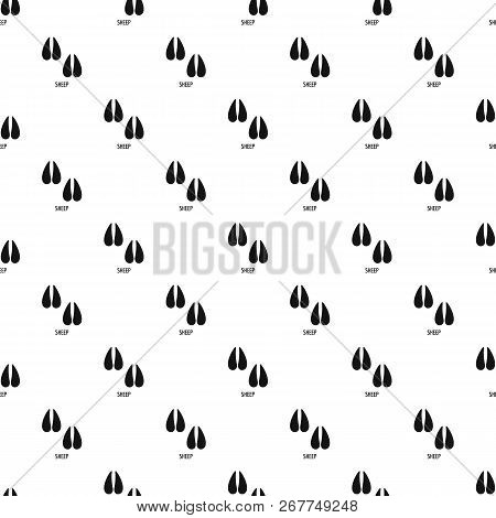 Sheep Step Pattern Seamless Repeat Geometric For Any Web Design