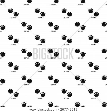 Elephant Step Pattern Seamless Repeat Geometric For Any Web Design