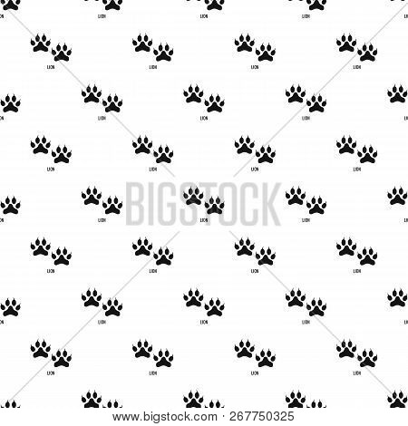 Lion Step Pattern Seamless Repeat Geometric For Any Web Design