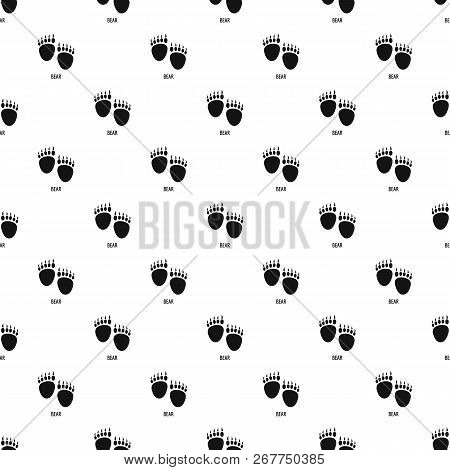 Bear Step Pattern Seamless Repeat Geometric For Any Web Design
