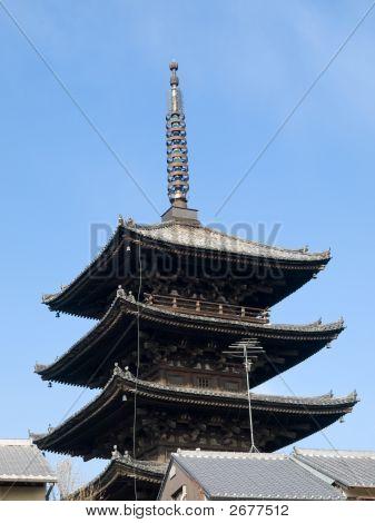 Pagoda Over Rooftops