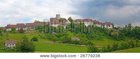 Regensberg castle near Zurich, Switzerland
