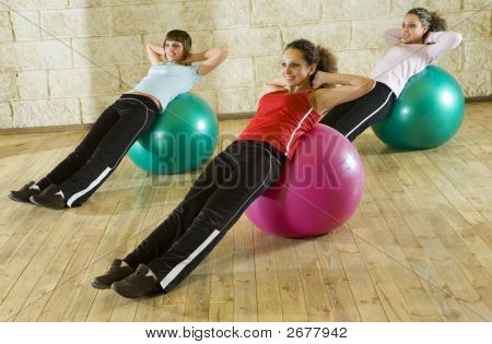 Exercising On Big Balls