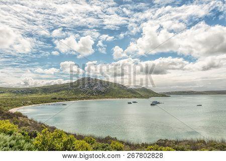 West Coast National Park, South Africa, August 20, 2018: A View Of Kraalbaai At The Langebaan Lagoon