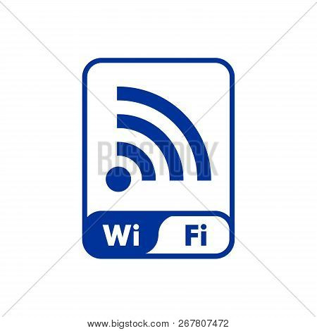 Wifi Sign,  Wifi Signal Icon, Wifi Signal Vector Icon Modern And Simple Symbol Wireless For Web Site