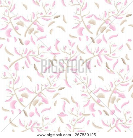 Floral Background Vector Illustration It Is Maybe Used For Any Professional Project