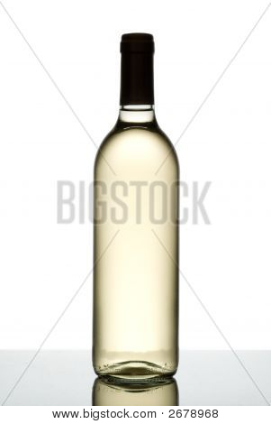 Bottle Of White Wine.