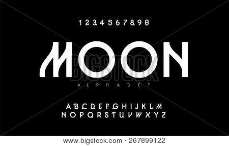 Urban Modern Alphabet. Designs For Logo, Poster, Invitation, Etc. Typography Font Uppercase. Vector