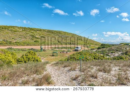 West Coast National Park, South Africa, August 20, 2018: A Picnic And Camping Area At Plankiesbaai I