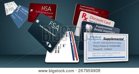 Here Is An Illustration With Nine Of The Healthcare Insurance Cards You Might Be Carrying. These Inc