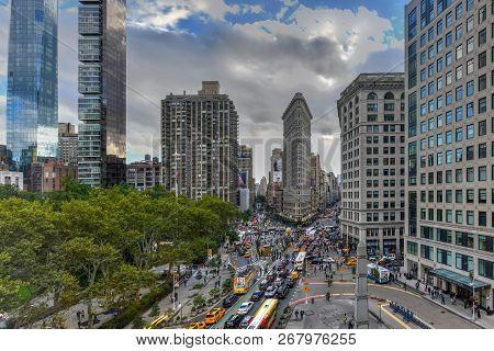 Flat Iron Building - New York City