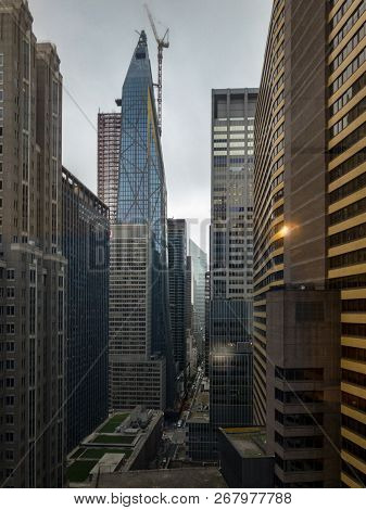 Aerial View - Midtown Manhattan