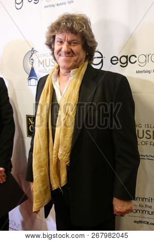 WESTBURY, NY - NOV 8: Michael Lang, co-creator of the Woodstock Festival, attends the 2018 Long Island Music Hall of Fame induction ceremony at The Space at Westbury on November 8, 2018 in Westbury.