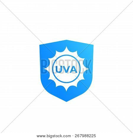 Uva Protection Vector Icon, Eps 10 File, Easy To Edit