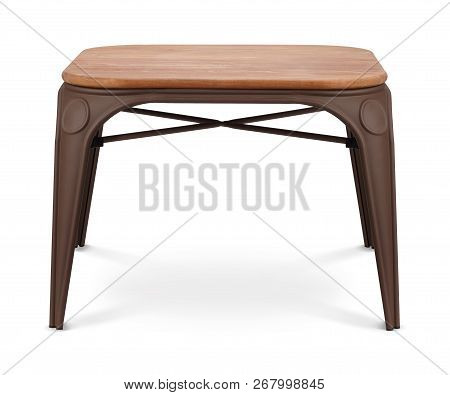 Brown Wooden Rectangular, Square Coffee Table, Dinning Table, Magazines Table. Modern Designer, Tabl