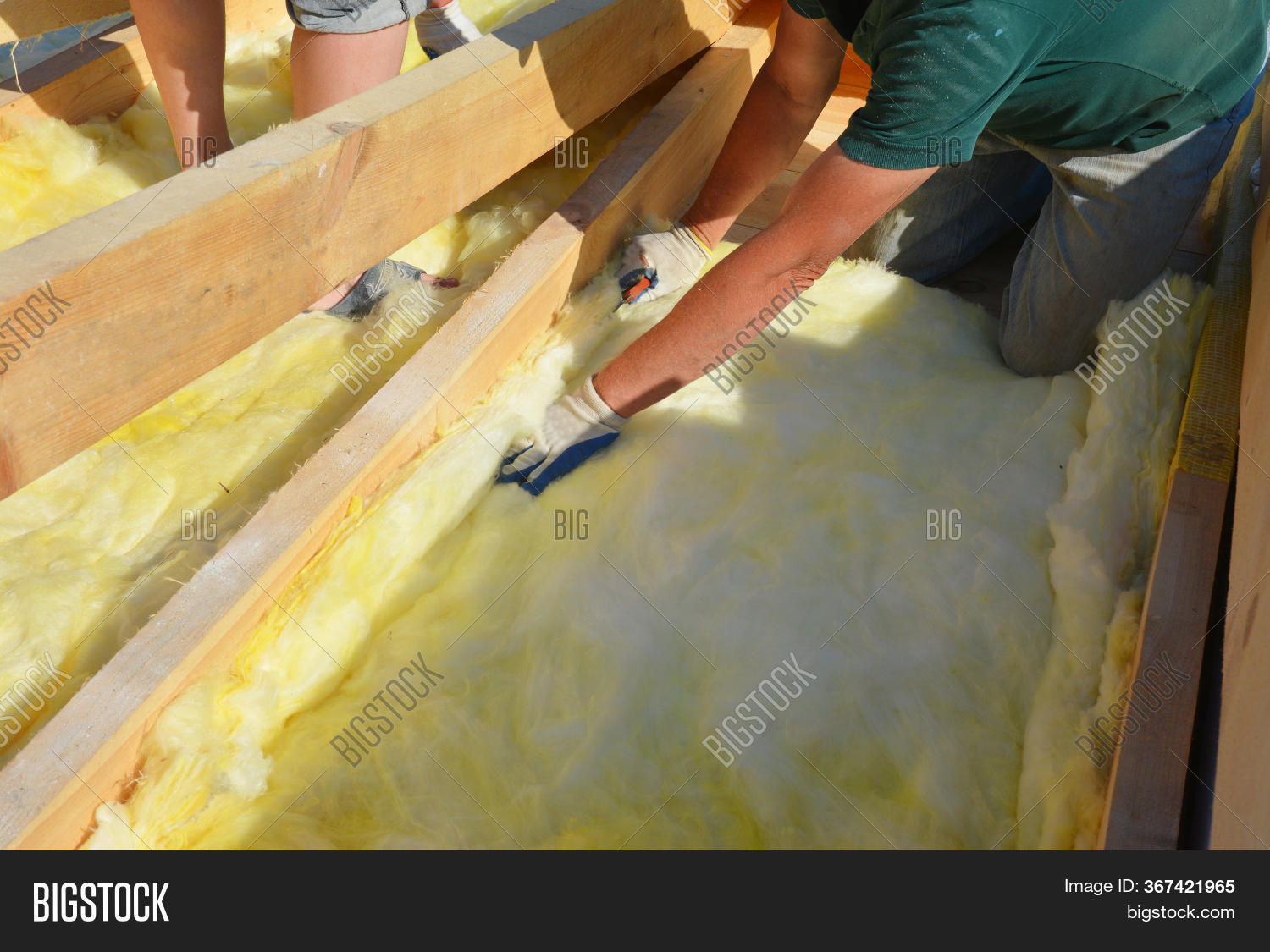 Roofing Construction Image Photo Free Trial Bigstock
