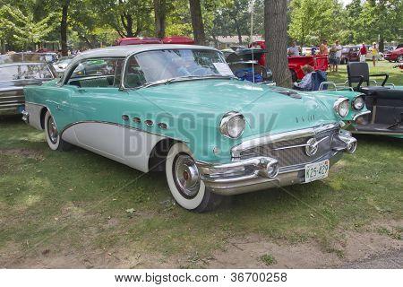 1956 Buick Aqua Blue
