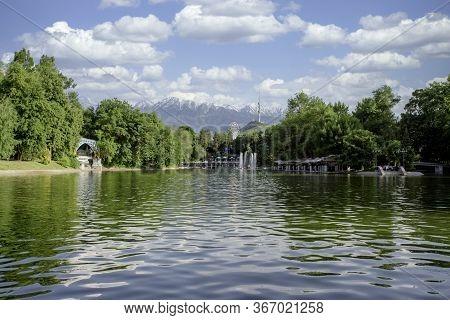 The Central Park Landmark Of Almaty Kazakhstan