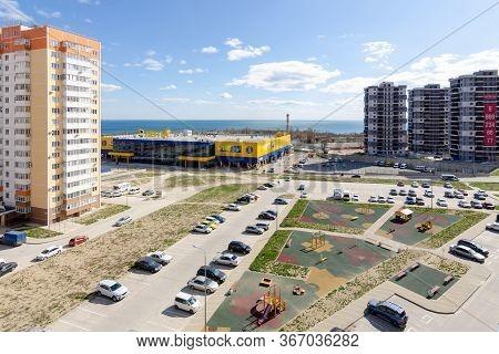 Novorossiysk, Russia - March 16, 2020: Hypermarket