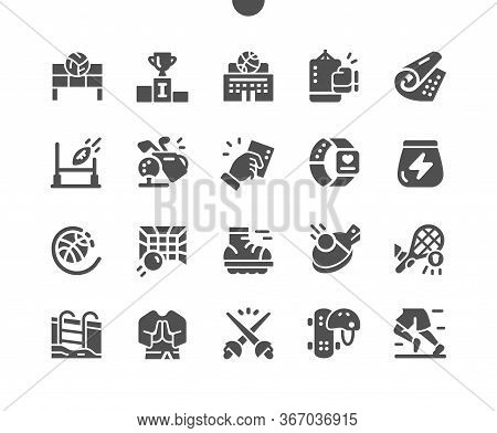 Sport Well-crafted Pixel Perfect Vector Solid Icons 30 2x Grid For Web Graphics And Apps. Simple Min