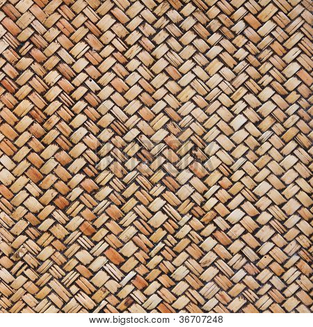 Thai Style Bamboo Wall