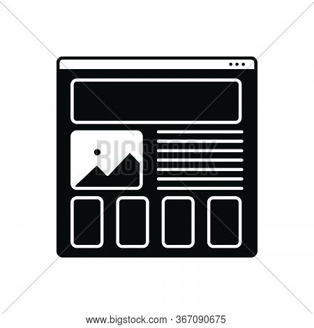 Black Solid Icon For Wireframing-prototyping Wireframing Prototyping Design Usability