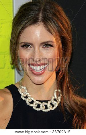 LOS ANGELES - SEP 10:  Kayla Ewell arrives at