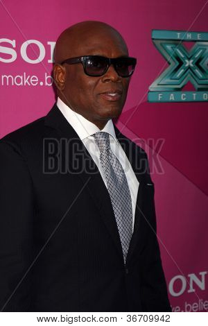 """LOS ANGELES - SEP 11:  Antonio """"LA"""" Reid arrives at the FOX Season 2 Premiere of X-Factor at Graumans Chinese Theater on September 11, 2012 in Los Angeles, CA"""