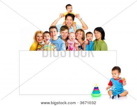 glückliche Familien