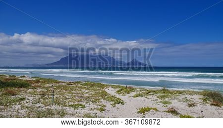Table Mountain On The South Atlantic Coast Near Cape Town South Africa