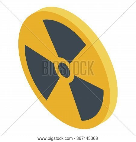 Danger Zone Icon. Isometric Of Danger Zone Vector Icon For Web Design Isolated On White Background