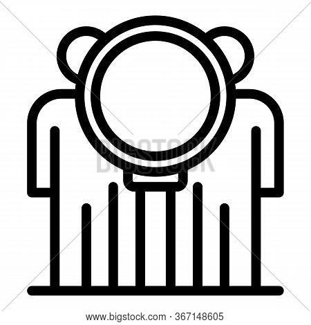 Public Sociology Icon. Outline Public Sociology Vector Icon For Web Design Isolated On White Backgro