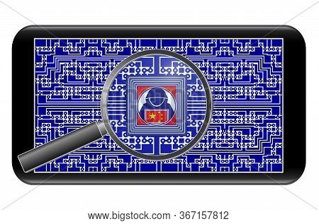 Chinese Spy Chips In Smartphones. China Using Spyware In Cellphones For Espionage