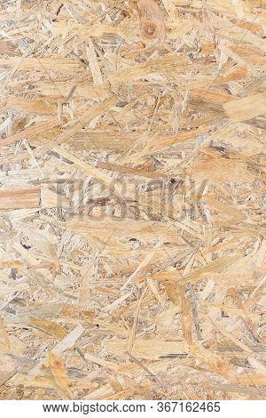 Osb Panel Texture. Oriented Strand Board. Chipboard Building Material. Osb Wooden Panel Made Of Pres
