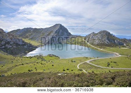 Enol Lake In Asturias