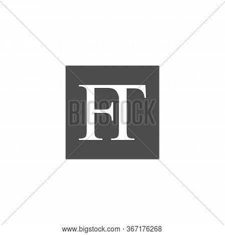 Initial Ft Letter Linked Logo. Creative Letter Ft Modern Business Logo Vector Template. Initial Ft L