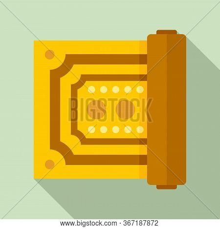 Turkish Carpet Icon. Flat Illustration Of Turkish Carpet Vector Icon For Web Design