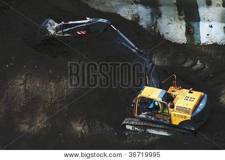 Construction Site 5 - Excavation