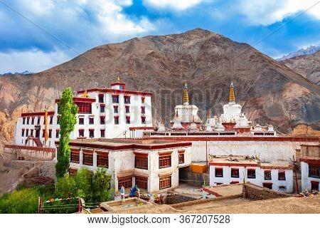 Lamayuru Monastery Or Gompa Is A Tibetan Style Buddhist Monastery In Lamayuru Village In Ladakh, Nor