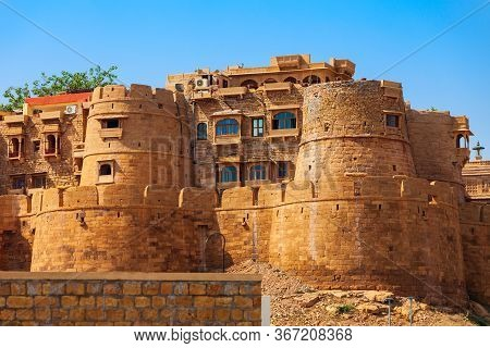 Jaisalmer Fort Is Situated In Jaisalmer City In Rajasthan State Of India